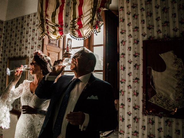 La boda de Luis y Patricia en Alfajarin, Zaragoza 34