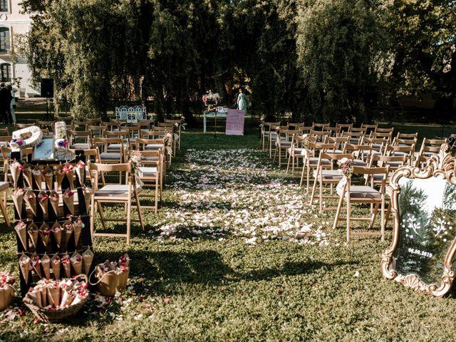 La boda de Luis y Patricia en Alfajarin, Zaragoza 36