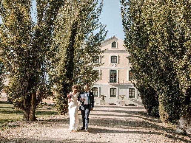 La boda de Luis y Patricia en Alfajarin, Zaragoza 45