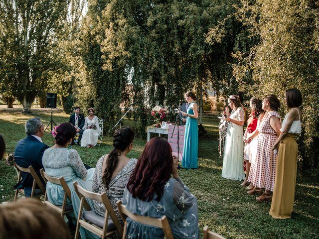 La boda de Luis y Patricia en Alfajarin, Zaragoza 51