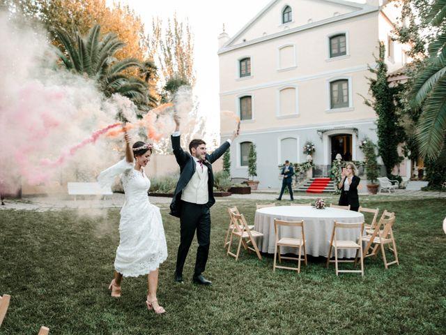 La boda de Luis y Patricia en Alfajarin, Zaragoza 75