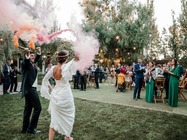 La boda de Luis y Patricia en Alfajarin, Zaragoza 76