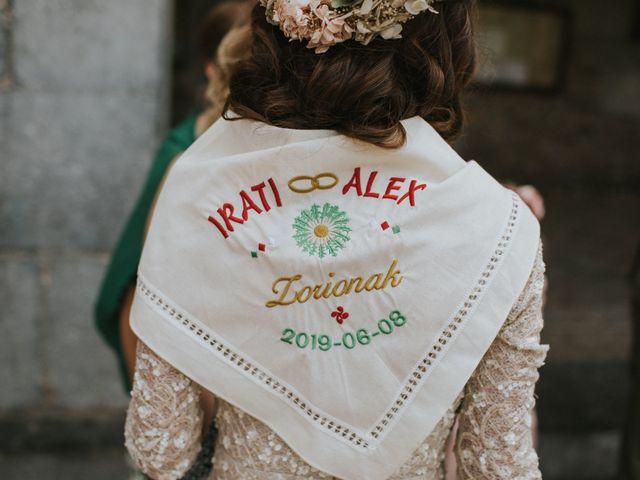 La boda de Alex y Irati en Orozco, Vizcaya 36