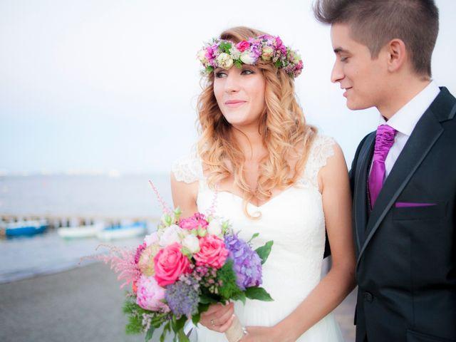La boda de Fran y Ainoa en Santiago De La Ribera, Murcia 93