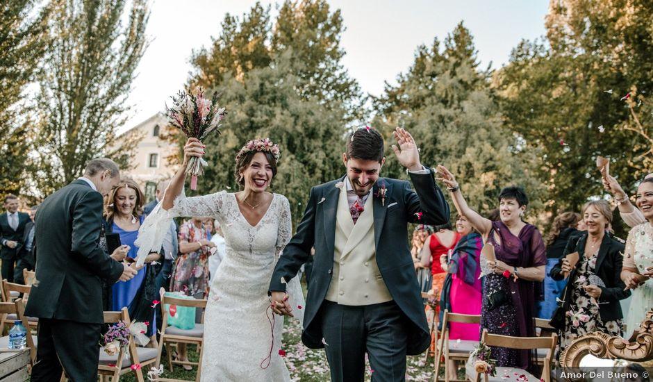 La boda de Luis y Patricia en Alfajarin, Zaragoza