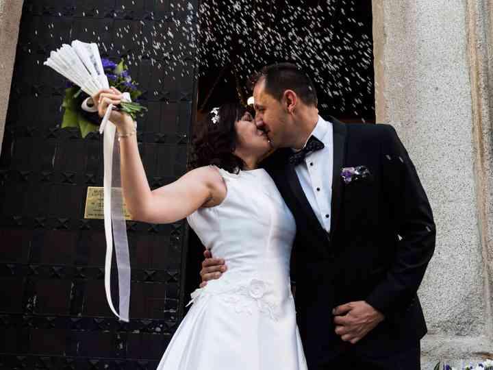 La boda de Antonio y Montserrat