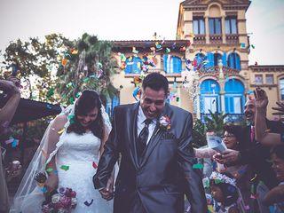 La boda de Mapi y Abel