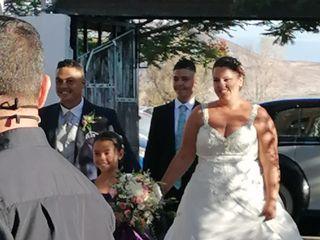 La boda de Christian  y Yani  1