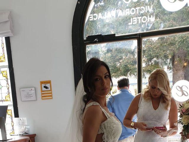 La boda de Tristán  y Roxana en Galapagar, Madrid 10
