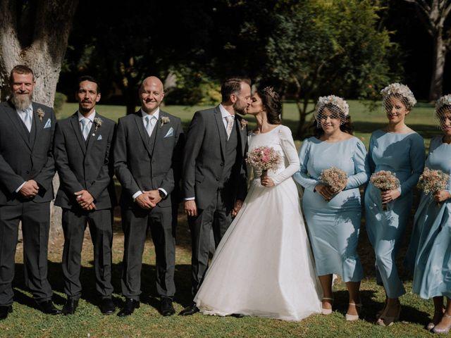 La boda de Almudena y Dylan
