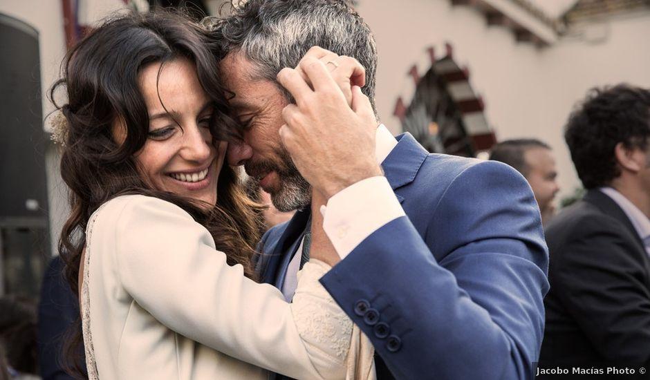 La boda de Tomás y Laura en Gerena, Sevilla