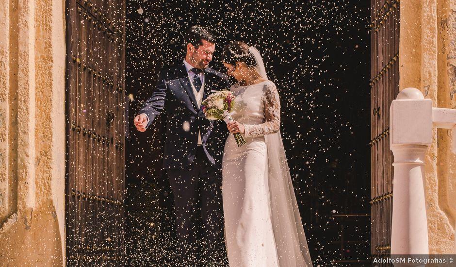 La boda de Antonio y Tamara en Herrera, Sevilla