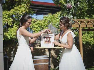 La boda de Sara  y Tamara