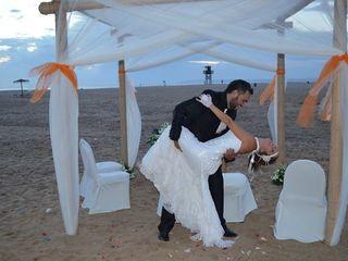 La boda de Ángel y Tania