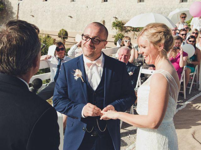 La boda de Fran y Sarah en Deià, Islas Baleares 14