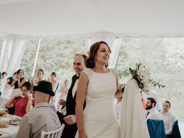 La boda de Dani y Ana en Ventas De Armentia, Burgos 20