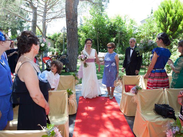 La boda de Yeray y Mar en Guadarrama, Madrid 34