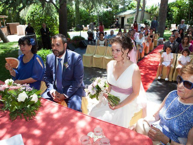 La boda de Yeray y Mar en Guadarrama, Madrid 40