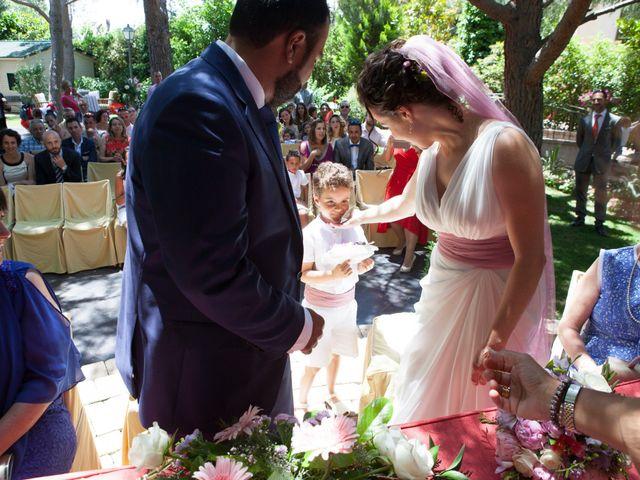 La boda de Yeray y Mar en Guadarrama, Madrid 45