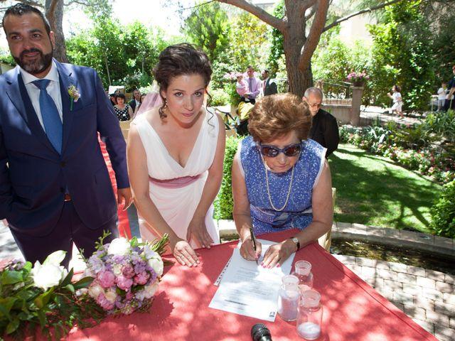 La boda de Yeray y Mar en Guadarrama, Madrid 52