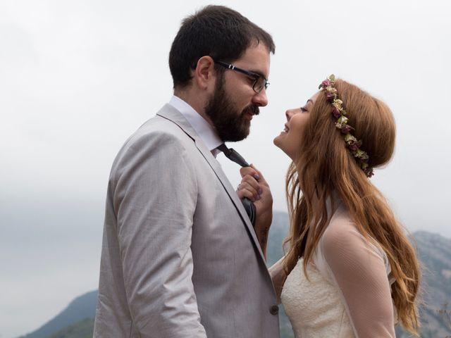 La boda de Éber Lara y Aroa Fernández en Les Planes Del Rei, Tarragona 7