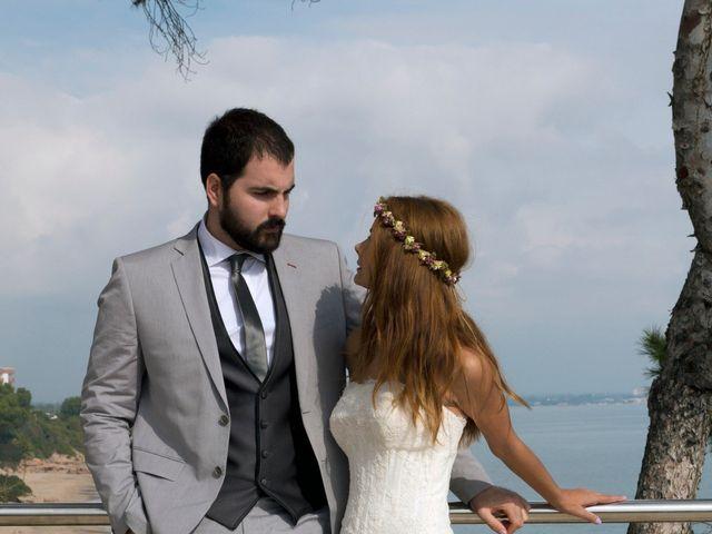La boda de Éber Lara y Aroa Fernández en Les Planes Del Rei, Tarragona 8