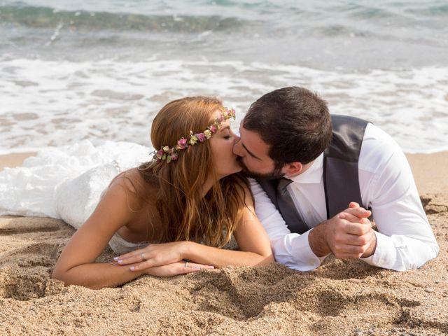 La boda de Éber Lara y Aroa Fernández en Les Planes Del Rei, Tarragona 9