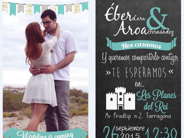 La boda de Éber Lara y Aroa Fernández en Les Planes Del Rei, Tarragona 10