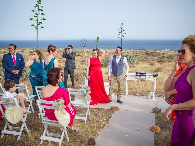 La boda de Paz y Jose en San Jose, Almería 19