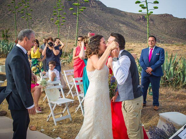 La boda de Paz y Jose en San Jose, Almería 22