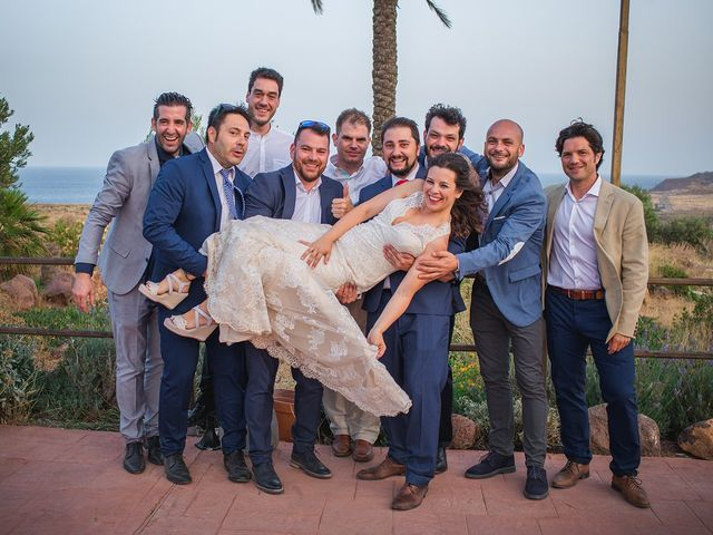 La boda de Paz y Jose en San Jose, Almería 41