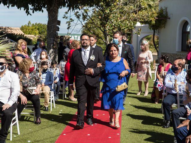 La boda de Yolanda y Omar en Lora De Estepa, Sevilla 12