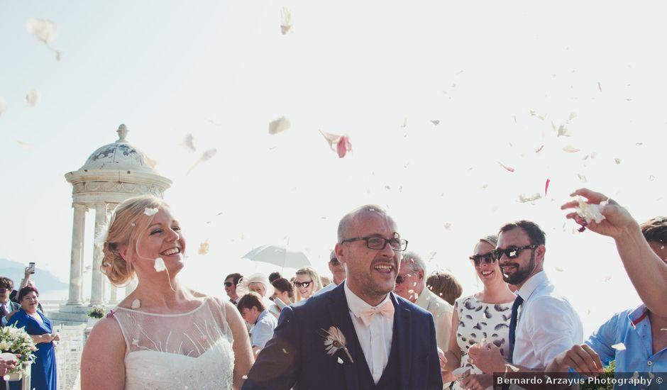 La boda de Fran y Sarah en Deià, Islas Baleares