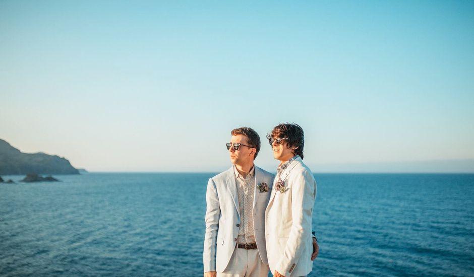 La boda de David y Oriol en Llança, Girona