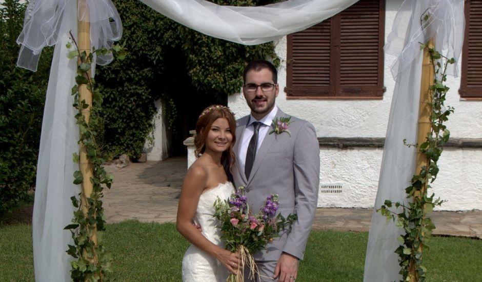 La boda de Éber Lara y Aroa Fernández en Les Planes Del Rei, Tarragona