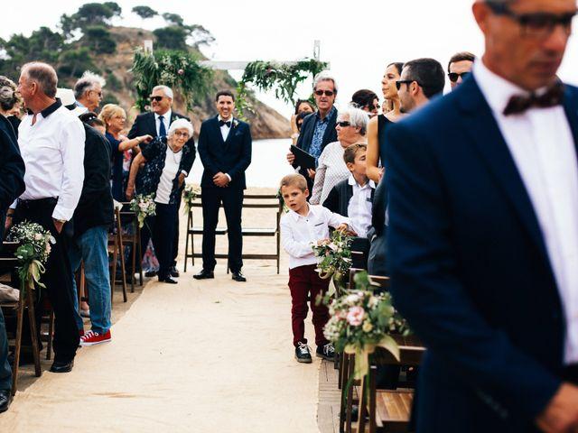 La boda de Ignasi y Silvia en Palamos, Girona 9