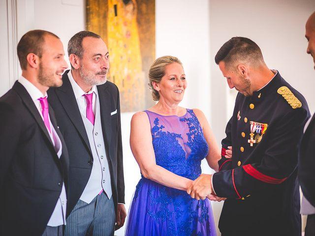 La boda de Javier y Úrsula en El Vellon, Madrid 10