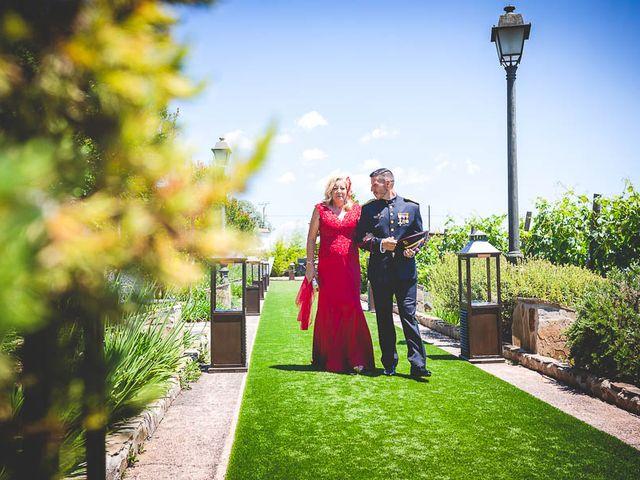 La boda de Javier y Úrsula en El Vellon, Madrid 38