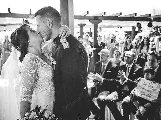 La boda de Javier y Úrsula en El Vellon, Madrid 40