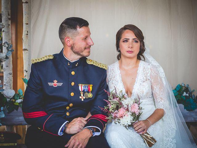 La boda de Javier y Úrsula en El Vellon, Madrid 43