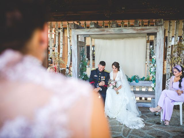 La boda de Javier y Úrsula en El Vellon, Madrid 44