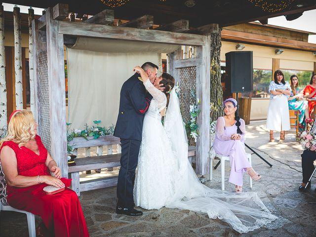 La boda de Javier y Úrsula en El Vellon, Madrid 51