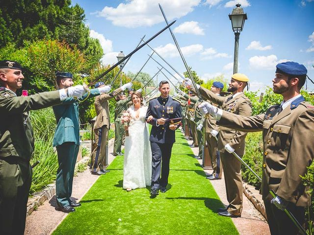 La boda de Javier y Úrsula en El Vellon, Madrid 52
