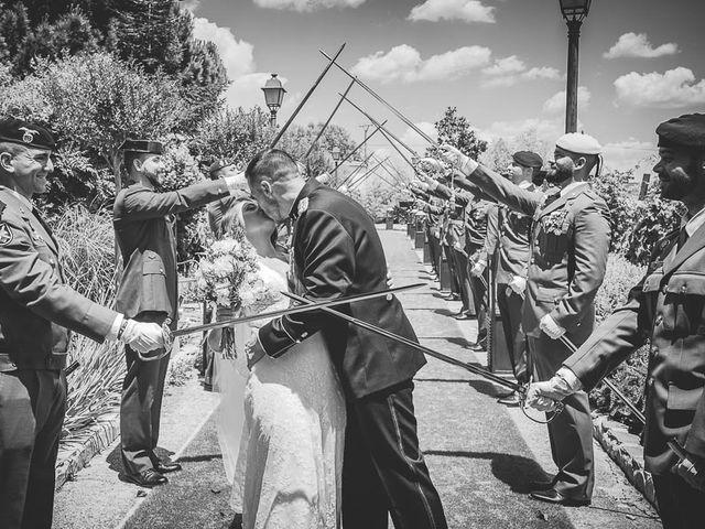 La boda de Javier y Úrsula en El Vellon, Madrid 53