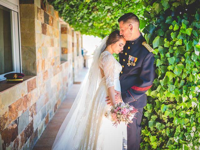La boda de Javier y Úrsula en El Vellon, Madrid 54