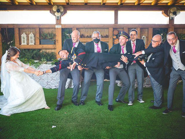 La boda de Javier y Úrsula en El Vellon, Madrid 71