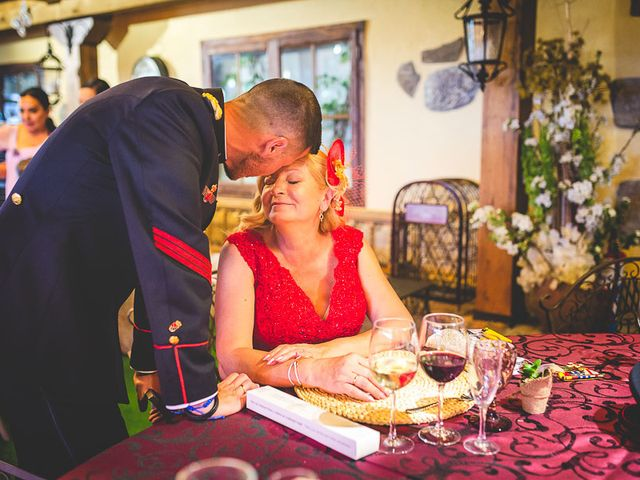 La boda de Javier y Úrsula en El Vellon, Madrid 77