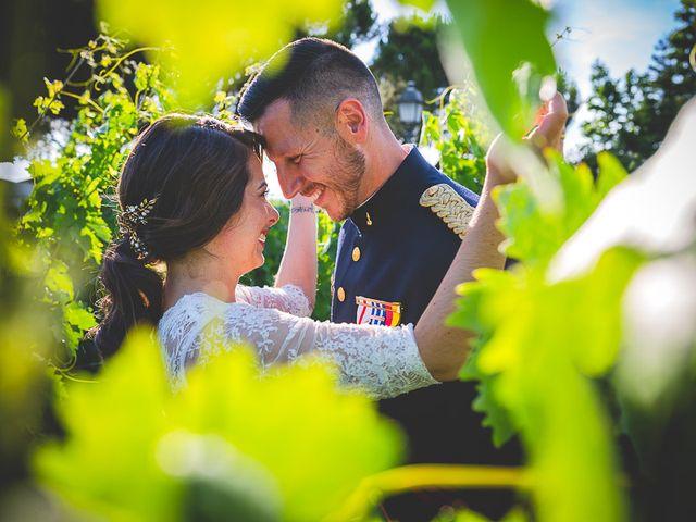 La boda de Javier y Úrsula en El Vellon, Madrid 86