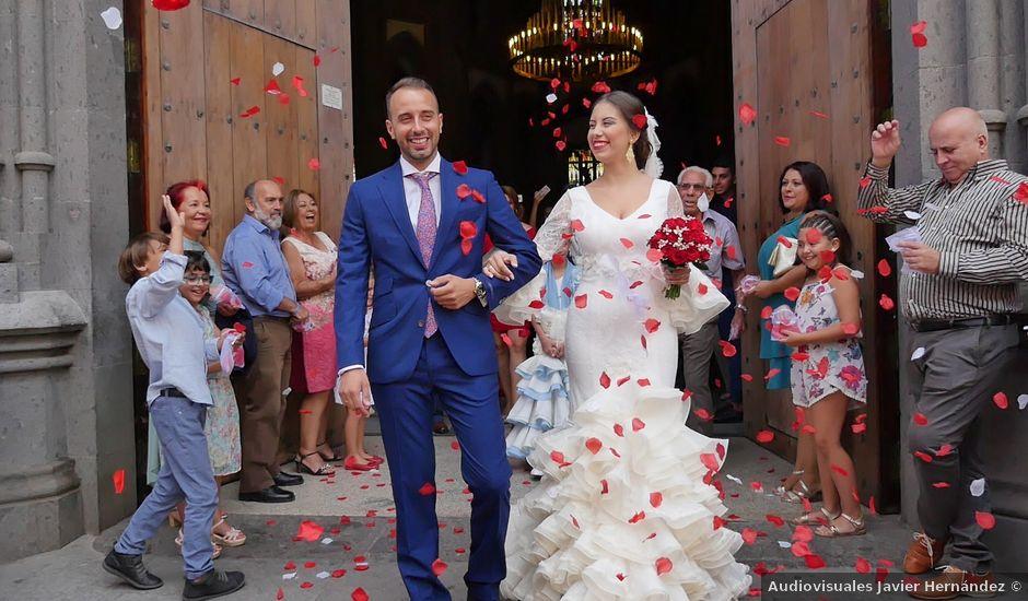 La boda de Daniel y Lorena en Arucas, Las Palmas