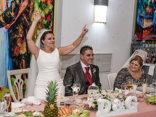 La boda de Gabi y David